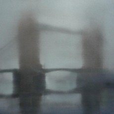 'Tower Bridge 2' oil on canvas 30x30cm SOLD