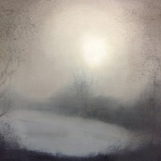 'Foggy Morning 2' 21 x 21 cm oil on board