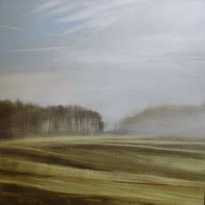 'Morning Mist' 25.5 x 25.5cm oil on panel SOLD