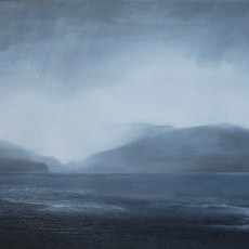 'Towards Hoy Orkney' oil on board 30x80cm £550 SOLD