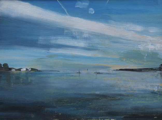 'Gloucester MA' 18.5x25cm oil on canvas SOLD
