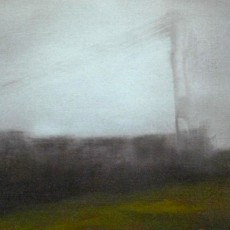 'November 7' oil on canvas 12.5x18cm £140