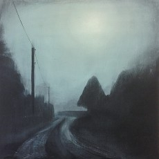 'Foggy Morning' mixed media 35 x 35cm SOLD