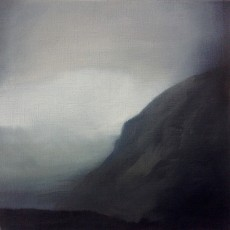 'Passing Storm' oil on linen 30 x 30cm SOLD