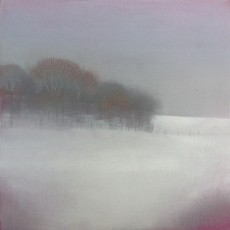 'Winter Morning'  oil on board 15 x 15cm SOLD