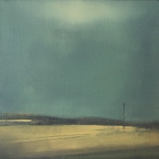 'Before the Rain' oil on board 20x20cm £190